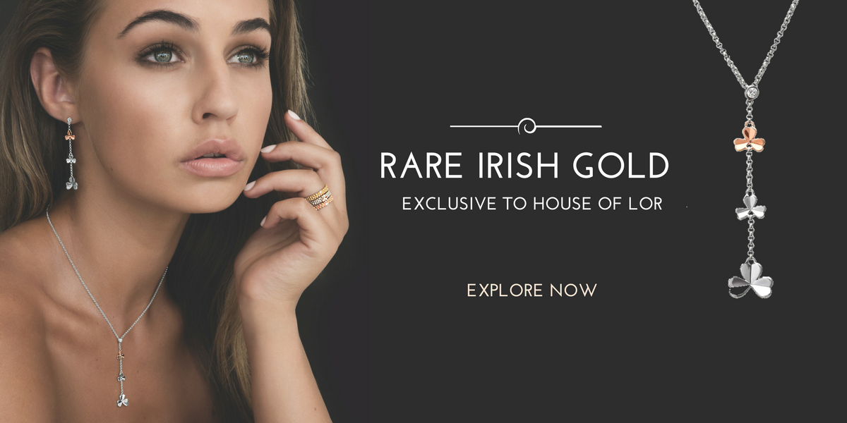 Irish Gold Jewelry